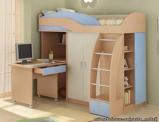 кровать чердак киев