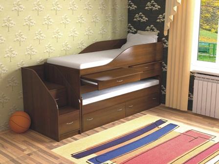 Детская кровать двухъярусная дуэт 8