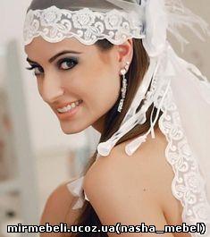 головной убор невесты на свадьбу