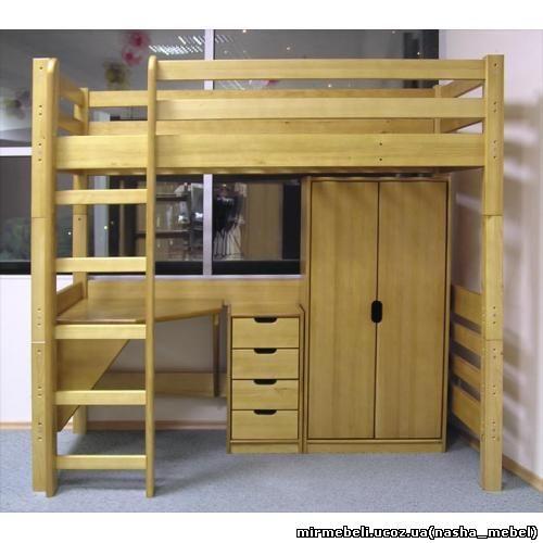 Детские кровати из массива, кроватки для детей от 2 х и