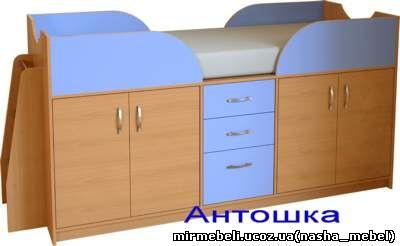 Рекомендованная нагрузка кровати до 120кг. Варианты донышка... Детская кровать из массива